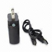 Leo Electronic Cigarette Home Charger with USB port with cable