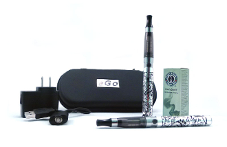 eGo Cigarette Manual Battery Custom Combo Flowers Design