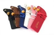 Electronic Cigarette Leather Lanyard