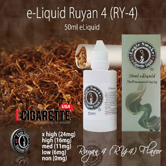 50ml Ruyan 4 - RY 4 Flavor e Liquid