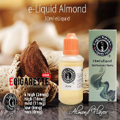 eLiquid 30ml Almond Flavor