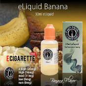 eLiquid 30ml Banana Flavor