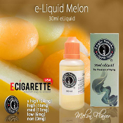 30ml Melon e cigarette e liquid