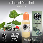 Menthol Flavor 30ml - Electronic Cigarette liquid