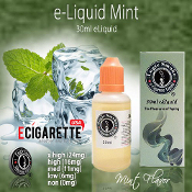Mint Flavor 30ml - Electronic Cigarette liquid