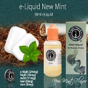 e Juice 30ml New Mint e Juice