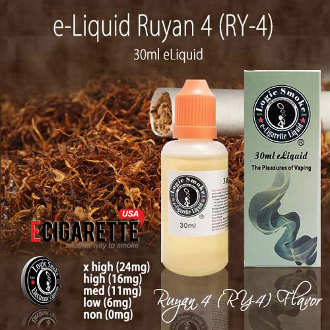 30ml Ruyan 4 - RY 4 Flavor e Cigarette e Liquid
