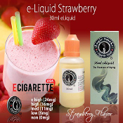 eLiquid 30ml Strawberry Flavor