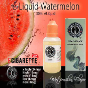 30ml WaterMelon e Cigarette Liquid
