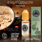 Electronic Cigarette Juice 10ml Cappuccino Flavor