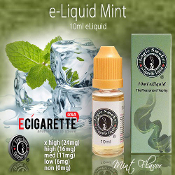 e Liquid for Electronic Cigarettes Mint Flavor