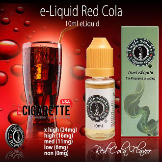 10ml e Cigarette Liquid Red Cola Flavor