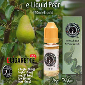 10ml Pear e cig liquid