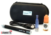 Combo eGo Clearomizer V V PassThrue Kit 10ml e Liquid eGo Case