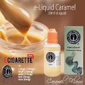 eLiquid 30ml Caramel Flavor