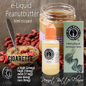 eLiquid 30ml Peanut Butter Flavor