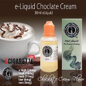 eLiquid 30ml Chocolate Cream Flavor