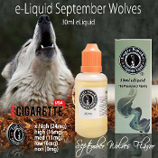 30ml Sept Wolves Flavor e Juice refill