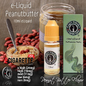 e cigarette liquid 10ml Peanut Butter Flavor
