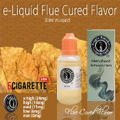 e liquid 30ml Flue Cured Flavor