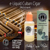 e Cigarette Nicotine | 30ml Cuban Cigar Flavor | Cigar e Liquid