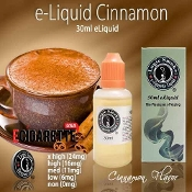 e Cigarette Liquid 30ml Cinnamon Flavor