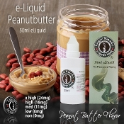 50ml Peanut Butter Flavor eLiquid