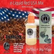 eLiquid 30ml Red USA Mix Flavor
