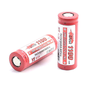 Efest IMR 18500 1100mah 3.7V battery with Flat top