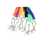 Colorful eGo Ring Electronic Cigarette Lanyard