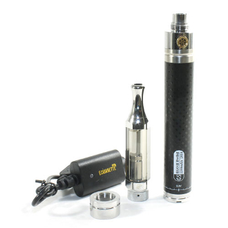 E Cig Kit 2200mAh Battery Slim Clearomizer