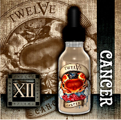 Twelve 20ml Cancer e liquid