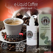 50ml e Cigarette liquid nicotine coffee flavor