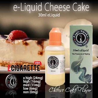 eLiquid 30ml CheeseCake Flavor