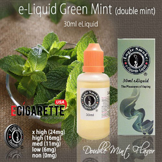 e liquid 30ml Green Mint Flavor