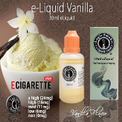30ml Vanilla Flavor e Cigarette Fluid
