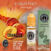 eLiquid 10ml Peach Flavor