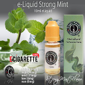 Smoke Juice | 10ml e Cigarette Juice | Strong Mint Flavor e Juice