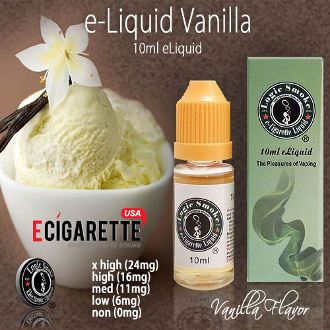 High Quality e Juice | 10ml Vanilla Flavor | Smoke Juice