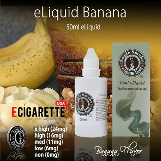 50ml Banana Flavor e Cig Liquid