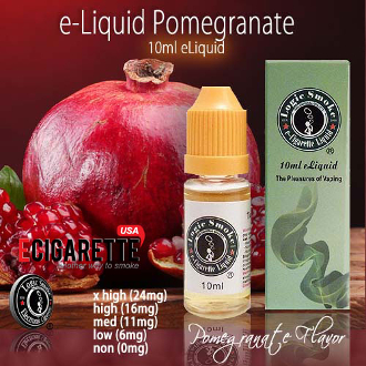 Electronic Cig Liquid 10ml Pomegranate
