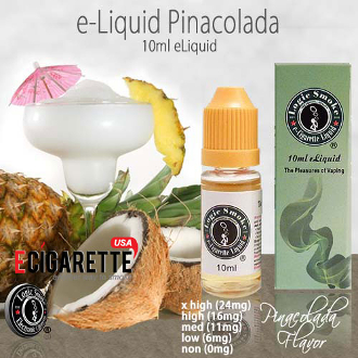 e Liquid 10ml Pinacolada Flavor