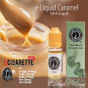 e Liquid 10ml Caramel Flavor