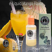 30ml Mango e Cigarette Liquid