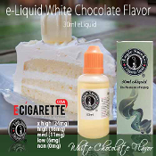 eLiquid 30ml White Chocolate Flavor