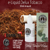 Our Deluxe Tobacco e Juice from Logic Smoke is a rich, full flavored tobacco flavor that is a must add to any tobacco e Juice lovers list of favorites.