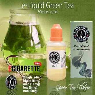 Vape Liquid 30ml Green Tea Flavor