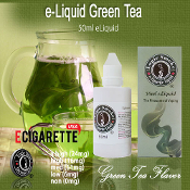 50ml Green Tea Flavor Liquid e Cigarette