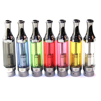 Slim series e Cigarette Clearomizer is a great new bottom coil clearomizer that has a unique hexagonal shape and a sturdy clear plastic tank that comes in a variety of colors