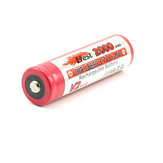 Efest IMR 18650 2250mah 3.7V battery with Flat top